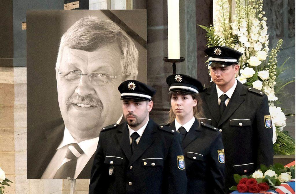 Trauerfeier für den Regierungspräsidenten Walter Lübcke Foto: imago images / Hartenfelser