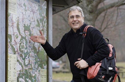 Rainer Stephan hat im Jahr 2011 für positive Schlagzeilen in Holzmaden gesorgt. Foto: privat