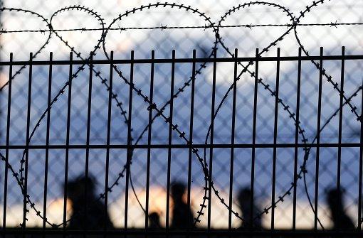 Protest gegen Asylverfahren