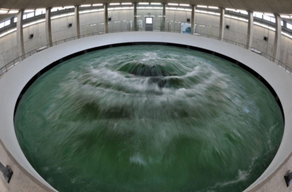 Verleast: Der Quelltopf der Bodensee-Wasserversorgung in Sipplingen. Foto: dpa