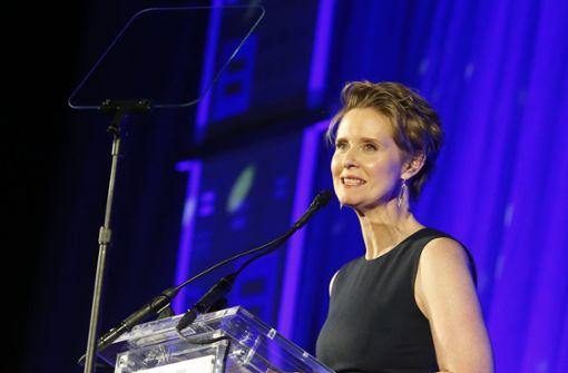 """Sex and the City""-Star Cynthia Nixon in Umfragen hinten"