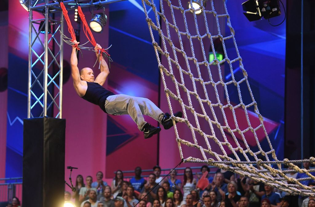 """Die zweite Staffel der RTL-Sendung """"Ninja Warrior Germany 2017"""" startete am 12. August. Foto: dpa"""