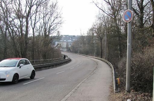 Wunsch nach Radweg auf der Filderhauptstraße