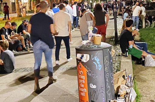 Ärger über Partyszene am   Feuersee – was hilft den Anwohnern weiter?
