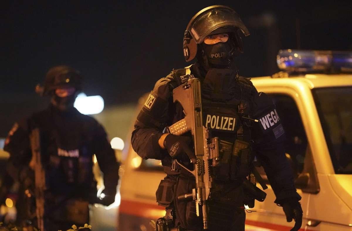 In Wien war es am Montagabend zu einem Terroranschlag gekommen. Foto: dpa/Georg Hochmuth