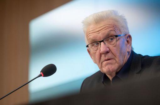 Winfried  Kretschmann: Kontaktregeln über Ostern werden noch geklärt