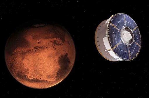Der Traum von Menschen auf dem Mars
