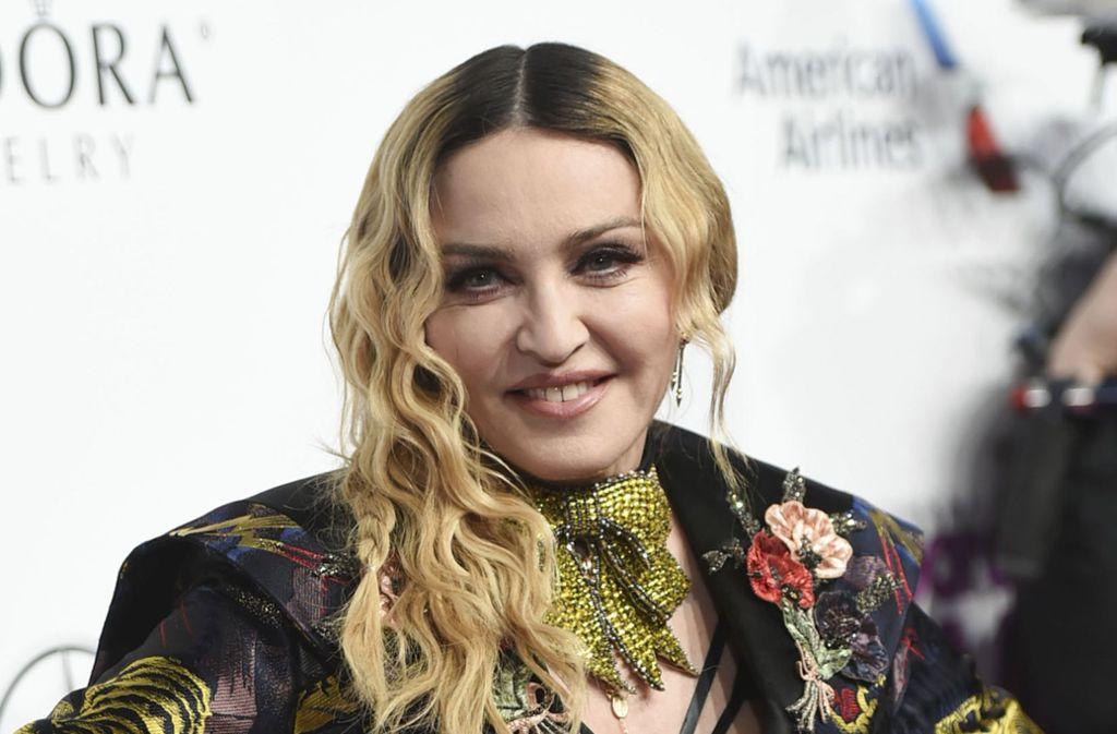 Popstar Madonna muss jüngst viel Kritik einstecken. Foto: AP