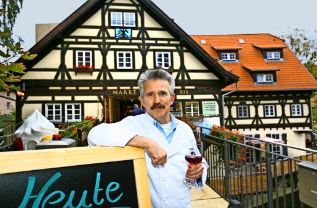 Manfred Kuntzer ist zurück  – und kocht in der Alten Zimmerei in Esslingen. Foto: Horst Rudel