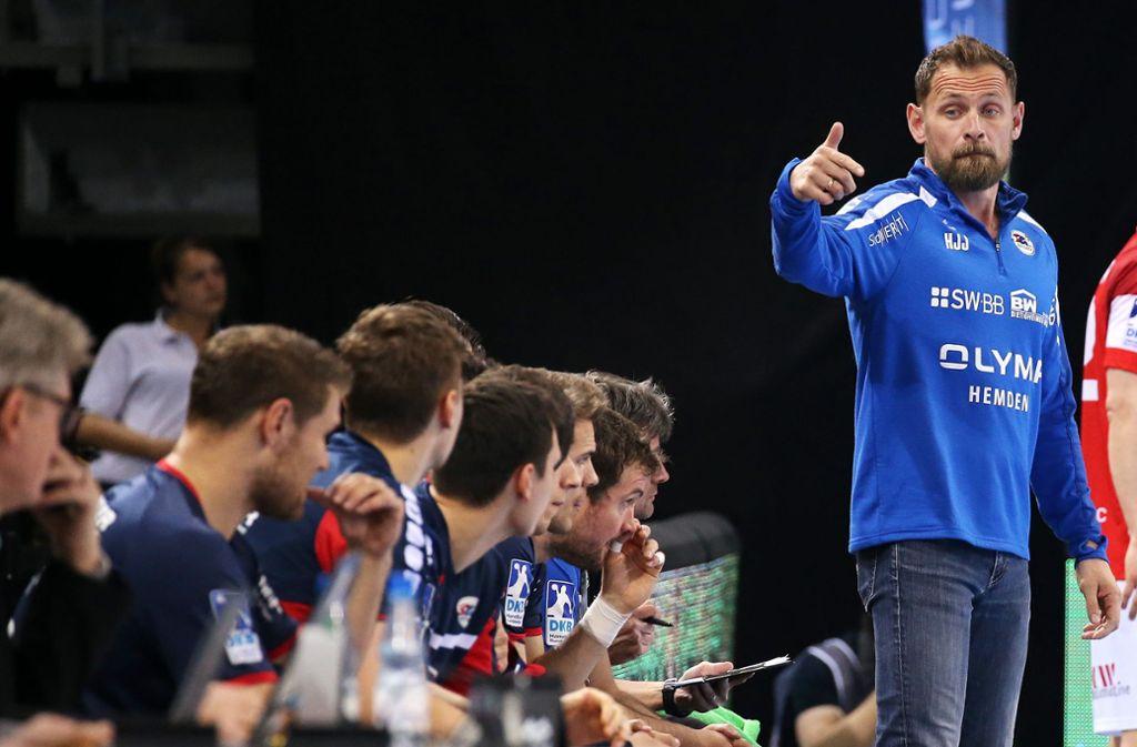 Hannes Jon Jonsson fordert mehr Disziplin von seiner Mannschaft. Foto: Baumann
