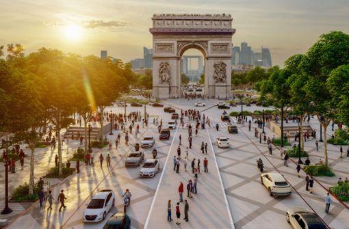 Die Champs-Élysées sollen grüner werden
