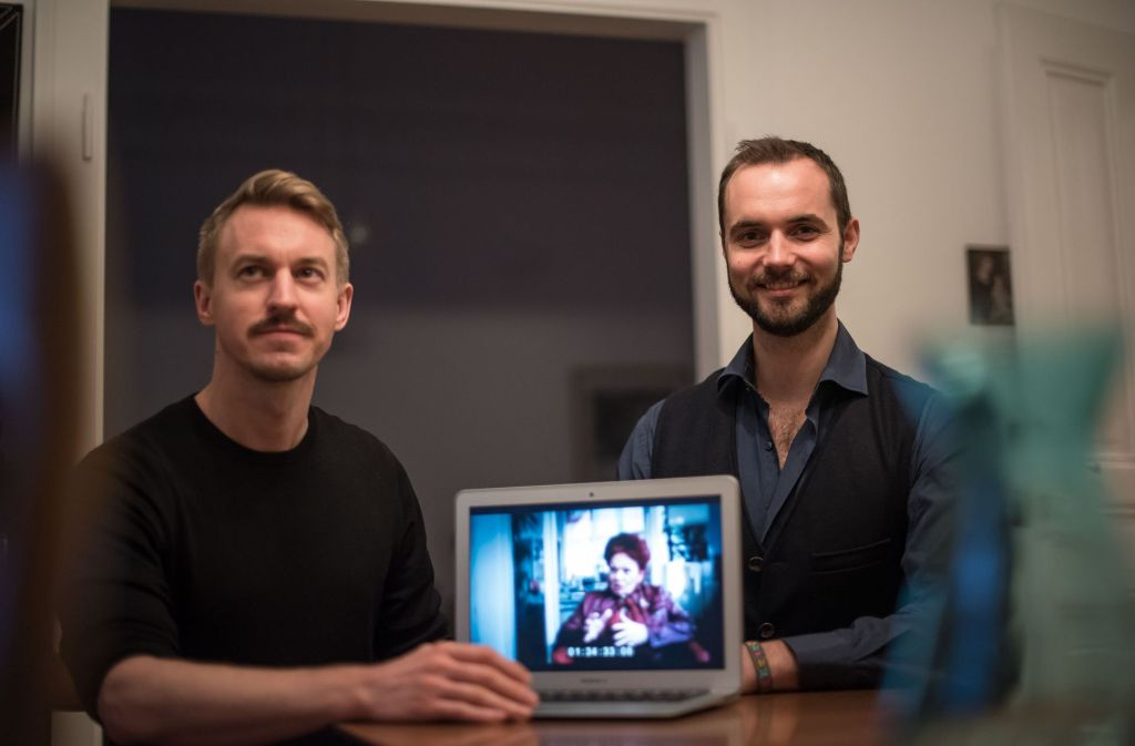 Die Filmemacher Claudius Gädeke (li.) und Sven Tomschin. Foto: Lichtgut/Max Kovalenko