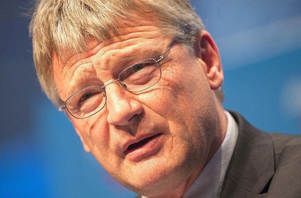 Jörg Meuthen hat sich in der AfD-Landtagsfraktion fürs Erste durchgesetzt. Foto: dpa