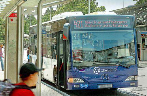 Bürger  blockieren den neuen Busfahrplan