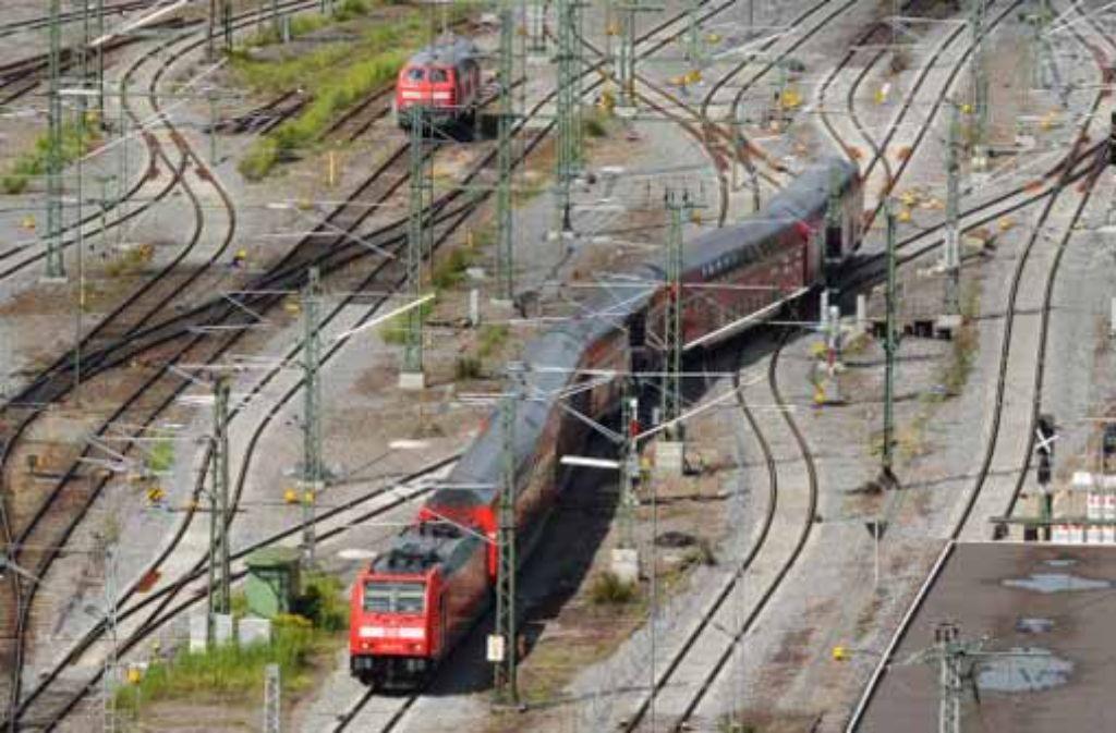 Die SMA-Gutachter bescheinigen der Bahn, dass ihr Fahrplan funktioniert. Foto: dpa