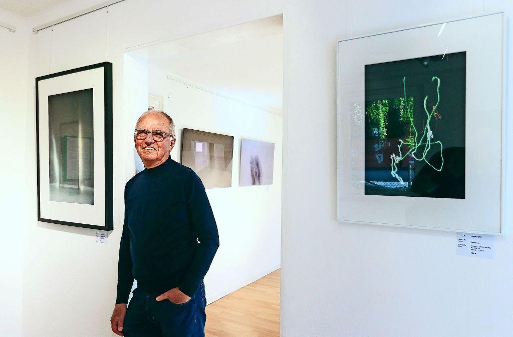 Keine dokumentarischen Fotos: Günter Zerweck bevorzugt, alltägliche Dinge fotografisch zu abstrahieren. Foto: factum/Granville