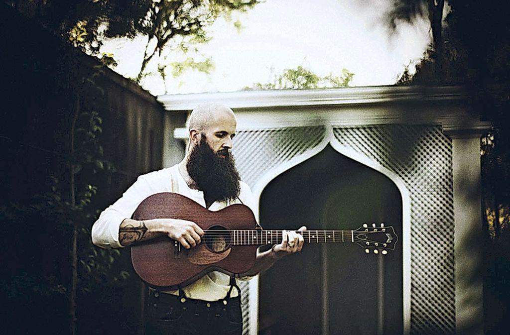 Ein Könner an der Gitarre: William Fitzsimmons Foto: PR