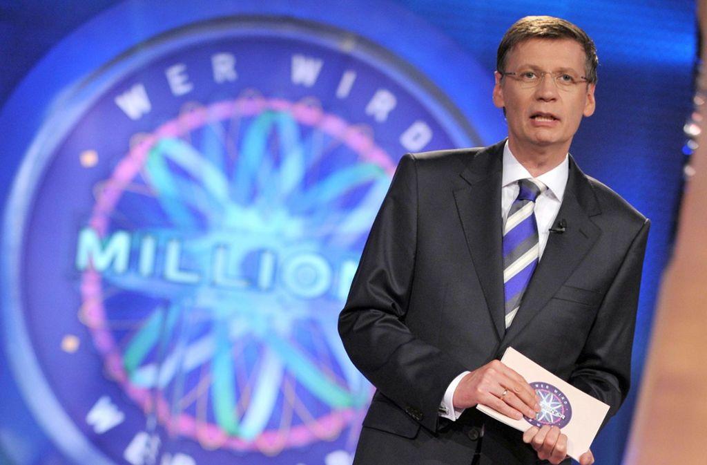 Günther Jauch konnte am Dienstag mal wieder einen Millionär beglückwünschen. Foto: dpa/Jörg Carstensen