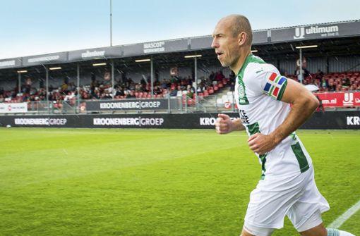 Robben-Mania –   Ex-Bayern-Star gibt sein Comeback