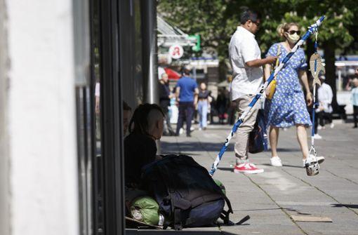 """Obdachlose machen sich oft unsichtbar"""