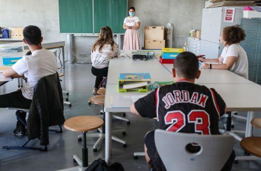 Lehrer müssen im Lehrerzimmer Maske tragen