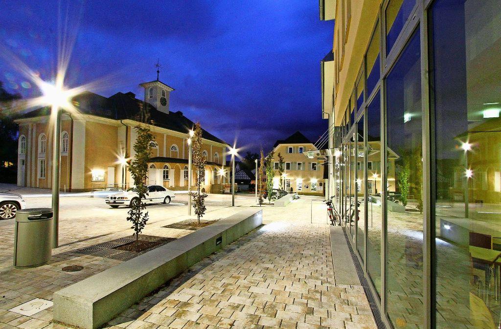 Der Saalplatz mit dem Großen Saal (links) ist die Keimzelle der Korntaler Brüdergemeinde. Foto: factum/Archiv