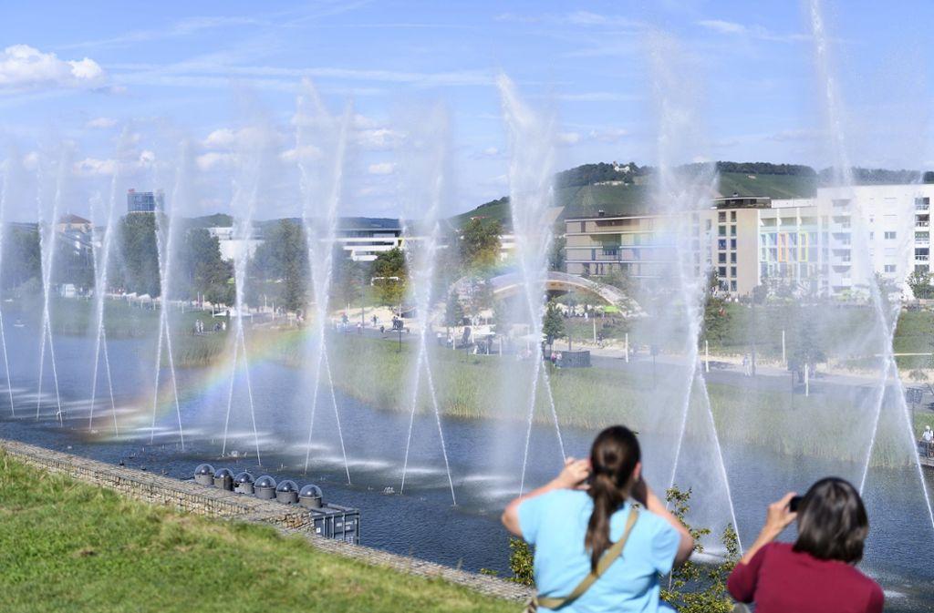 Die Bundesgartenschau in Heilbronn war ein voller Erfolg. Foto: dpa/Fabian Sommer