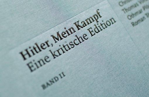 """Mein Kampf""-Edition wird nachgedruckt"