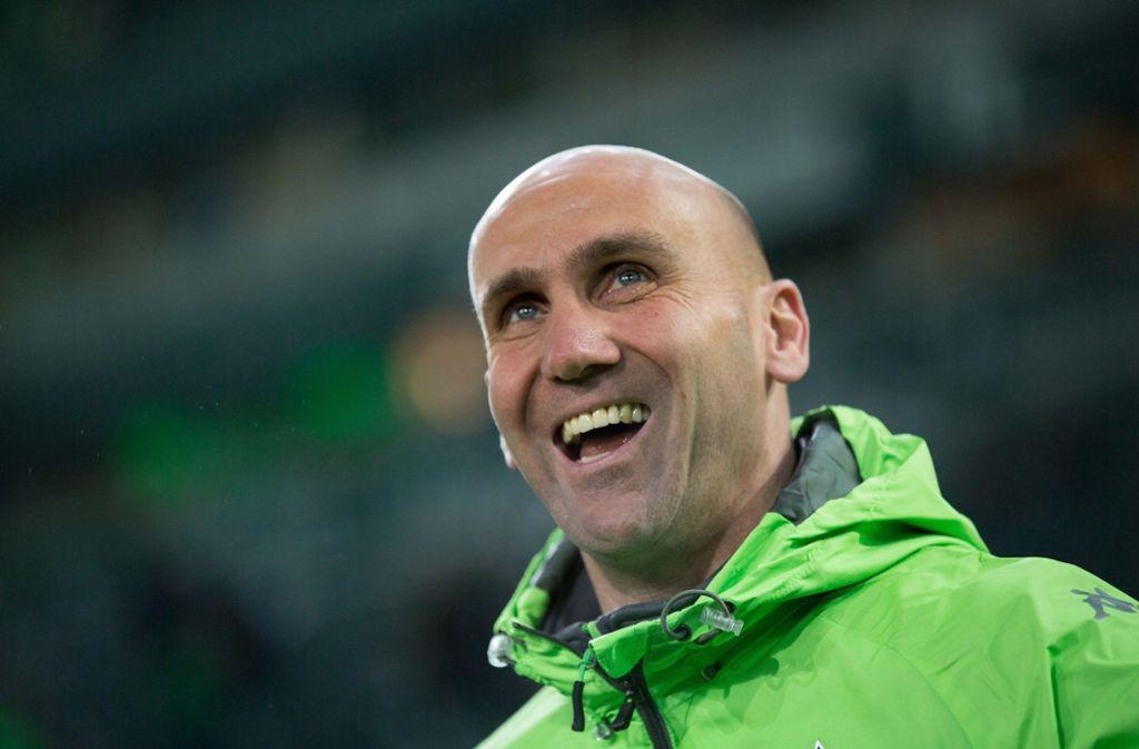 André Schubert trainierte zuletzt Drittligist Eintracht Braunschweig. In der Bundesliga arbeitete er außerdem für Borussia Mönchengladbach. Foto: dpa