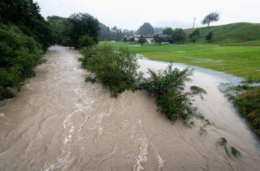 Auf den  Dauerregen folgt das Hochwasser