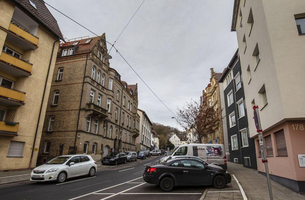 In Gegenden wie hier in Stuttgart-West werden manchmal  möblierte Zimmer zu  sehr hohen Preisen  angeboten. Foto: Leif Piechowski