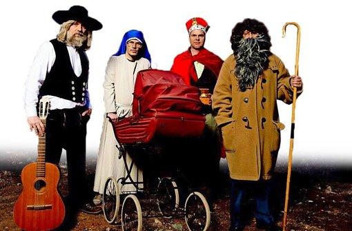 Erdmöbel macht Weihnachten zur Party - neues Album Geschenk