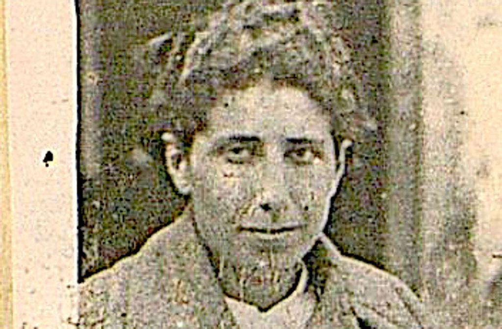 Dieses vergilbte Passbild ist das einzige Foto, das von Betty Rosenfeld geblieben ist. Es fand sich als Anhang in einem spanischen Dokument von 1938. Foto: CDMH Salamanca