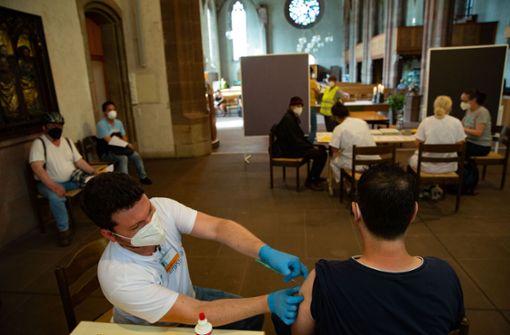 Stadt schickt einen Impfbus auf Tour