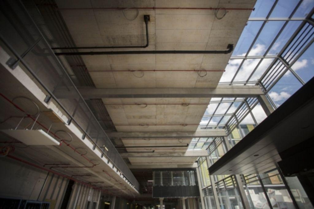 Probleme mit dem Beton müssen aufwendig behoben werden. Foto: Gottfried Stoppel