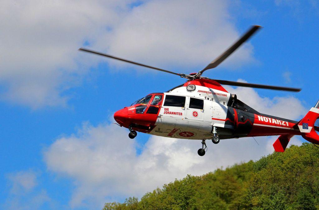 Mit einem Rettungshubschrauber musste der schwer verletzte Zwölfjährige   in ein Krankenhaus geflogen werden. Foto: pixabay