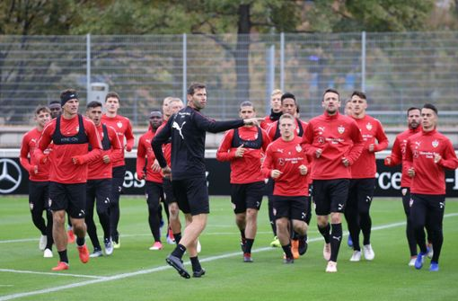 Zwei Rückkehrer im VfB-Training