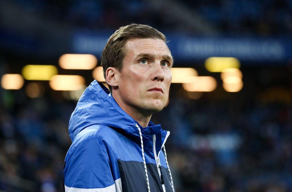 HSV-Trainer Hannes Wolf hat schwere Wochen hinter sich Foto: dpa