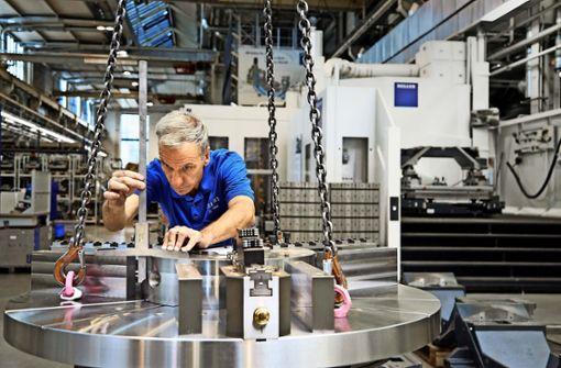 Auftragsflut für Maschinenbauer Heller