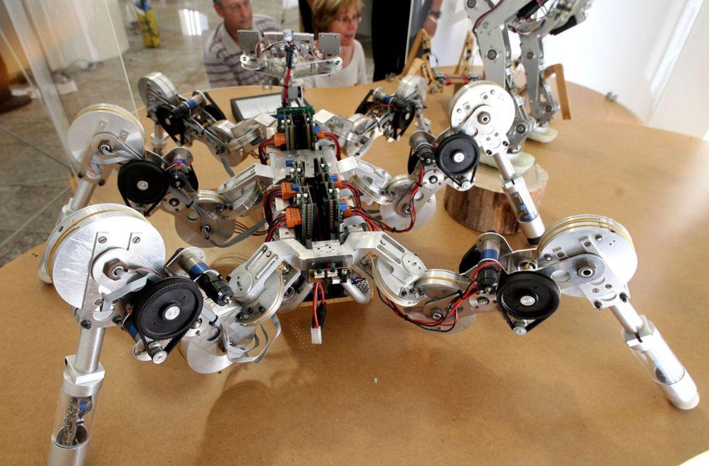 In der technischen Entwicklung wie etwa dem Roboterbau kommt Bionik zum Einsatz. Aber auch in der Architektur spielt sie eine immer größere Rolle. Foto: dpa
