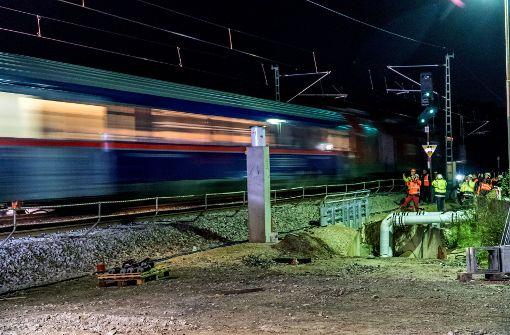 Der Zugbetrieb rollt wieder – größtenteils