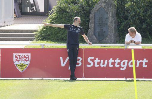 Sven Mislintat setzt beim VfB Stuttgart alles auf eine Karte
