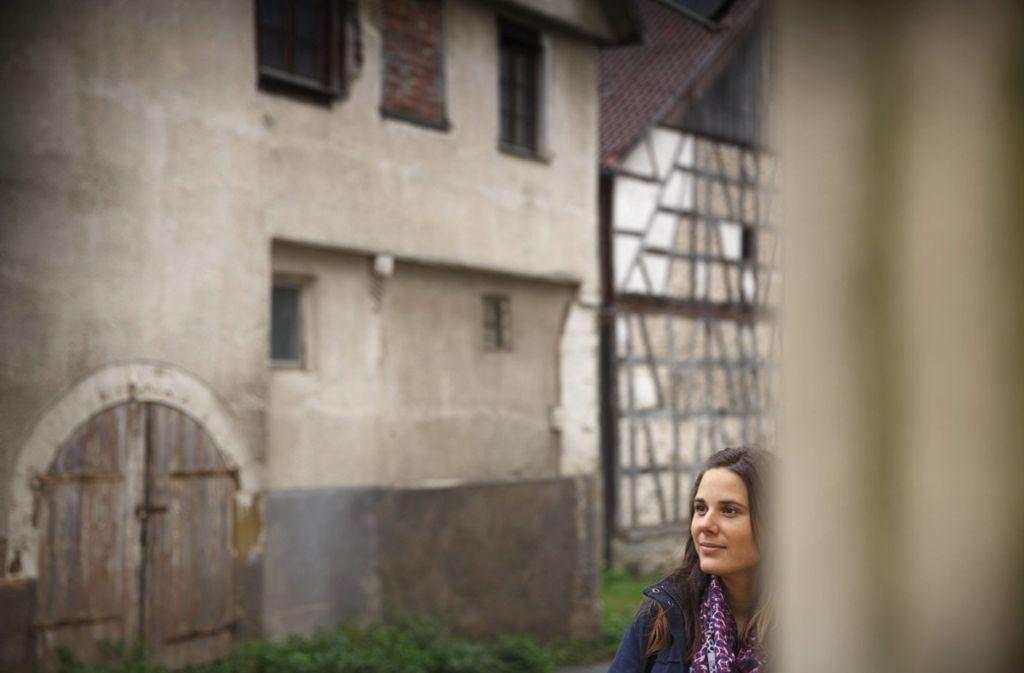 Die Backnanger Grünen-Stadträtin Melanie Lang wohnt gerne in Oberschöntal. Foto: Stoppel/Archiv