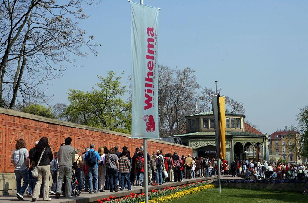 Zu Ferienzeiten kommen besonders viele Besucher in die Wilhelma. Foto: achim zweygarth