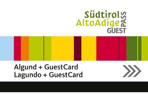 Mit der AlgundCard fahren Sie kostenlos in ganz Südtirol mit öffentlichen Verkehrsmittel.