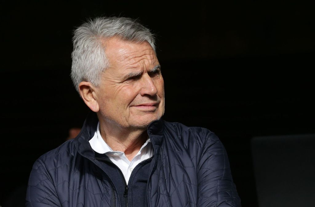 VfB-Präsident Wolfgang Dietrich steht weiterhin in der Kritik. Foto: Pressefoto Baumann
