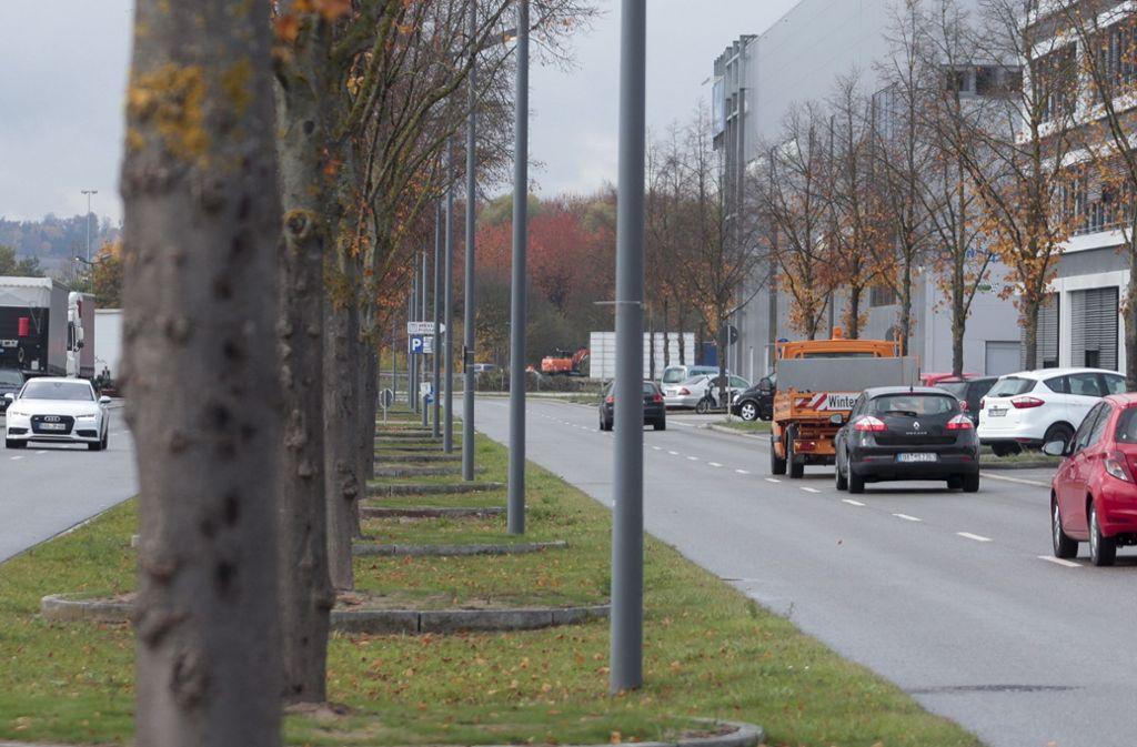In der Flugfeldallee wird in der kommenden Woche gebaut. Foto: Archiv/factum/Granville