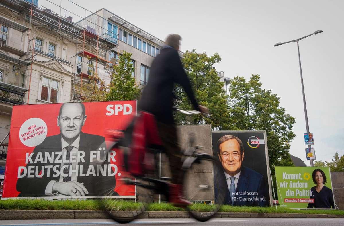 Die SPD liegt laut der neusten Umfrage immer noch vorne. Foto: dpa/Kay Nietfeld