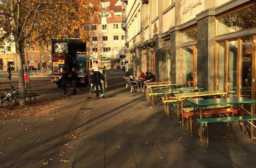 Am Marienplatz ist nun immer Sommer