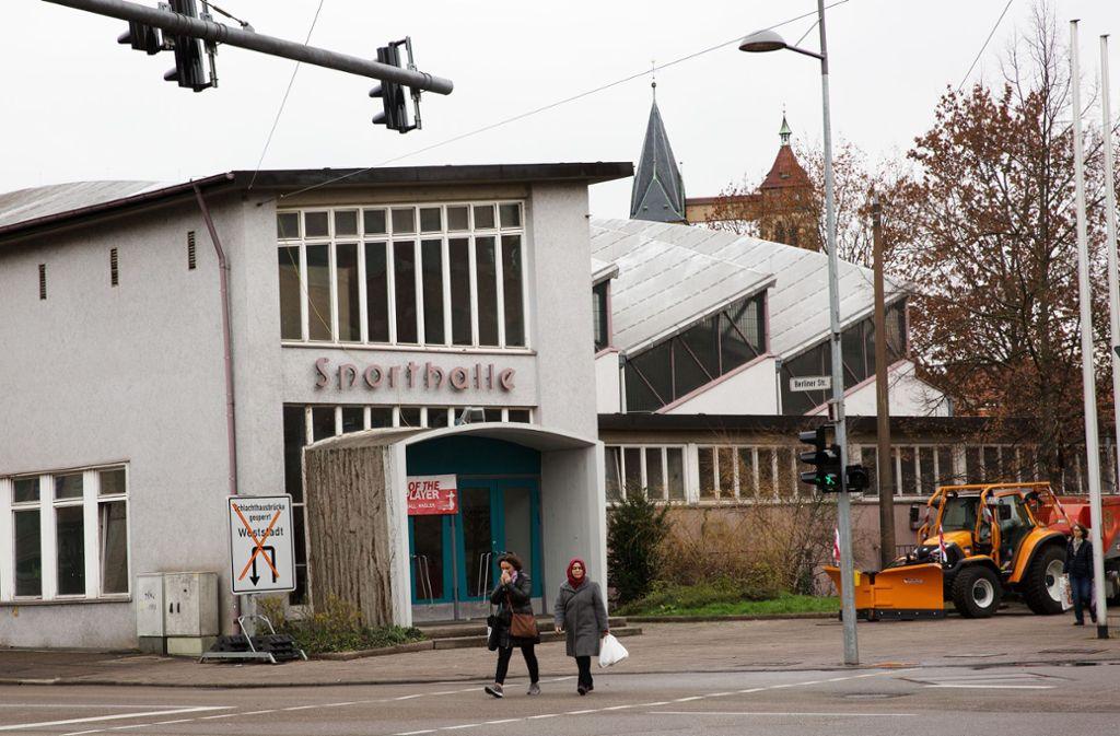 Die Schelztorsporthalle wurde inzwischen als Baudenkmal ausgewiesen. Foto: Ines Rudel